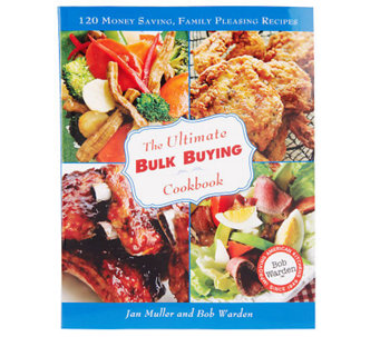 """The Ultimate Bulk Buying Cookbook"" by Jan Muller & Bob Warden - F08819"