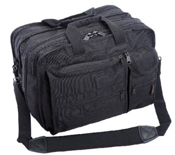 A.Saks Expandable Multi-Pocket Organizer Briefcase - F249120