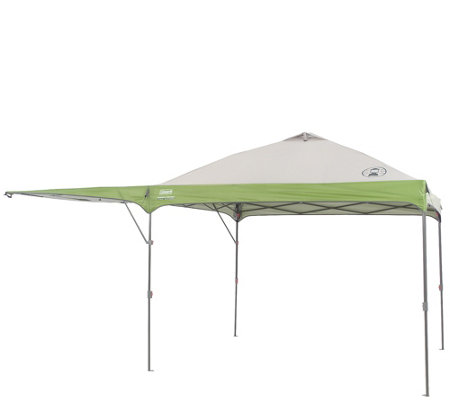 Coleman 10x10 Instant Shelter w/ Swing Wall