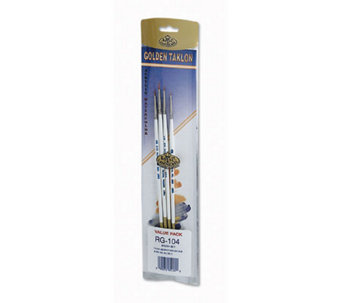 Golden Taklon Brush Set - Details - F157621