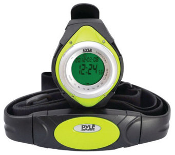 Pyle PHRM38GR Heart Rate Monitor Watch - Green - F247921