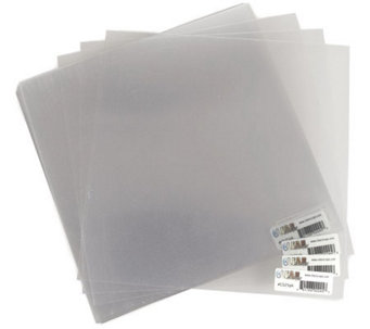 Acrylic Sheets 12X12 25-Sheet Package -Clear - F190522