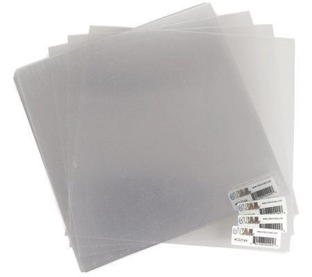Acrylic Sheets 12X12 25-Sheet Package -Clear