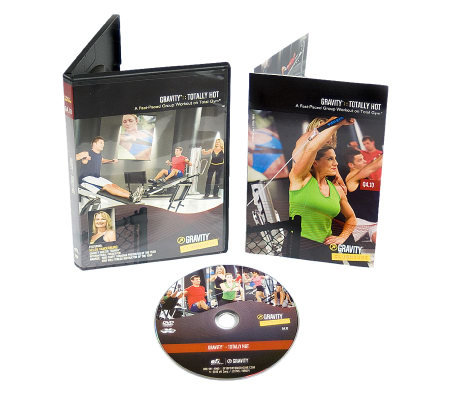 Total Gym Totally Hot DVD High Energy Two-in-One Workout