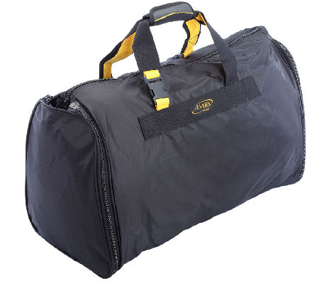 A. Saks Expandable Carry On Duffel