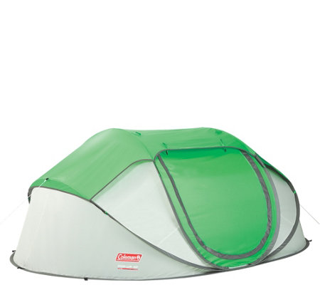 Coleman 4 Person Quick & Easy Pop-Up Tent