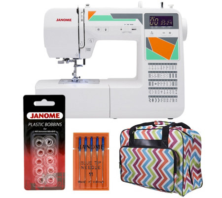 Janome MOD-50 Computerized Sewing Machine withAccessories