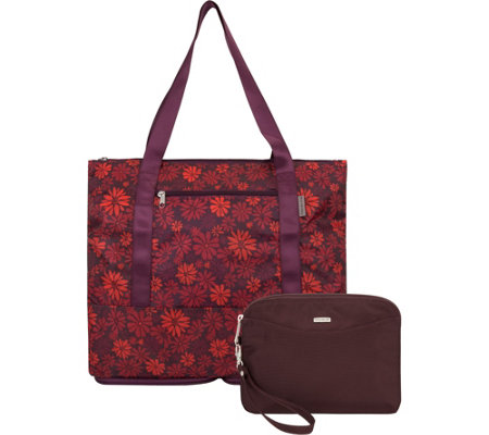 Travelon Convertible Pouch & Tote with RFID