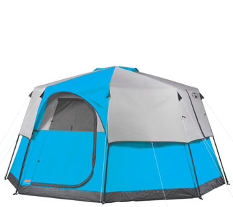 Coleman Octagon 98 8 Person Tent With Privacy Divider - F249524