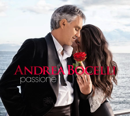 "Andrea Bocelli ""Passione"" 14 Track CD with 6 Track Bonus CD"