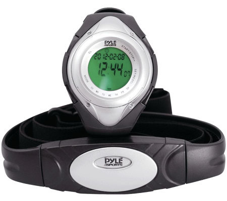 Pyle PHRM38SL Heart Rate Monitor Watch - Silver