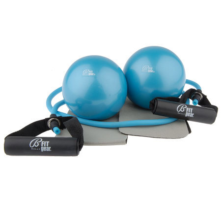 Bally's Arm Sculpting System with (2) 3 lbs. Weighted Balls