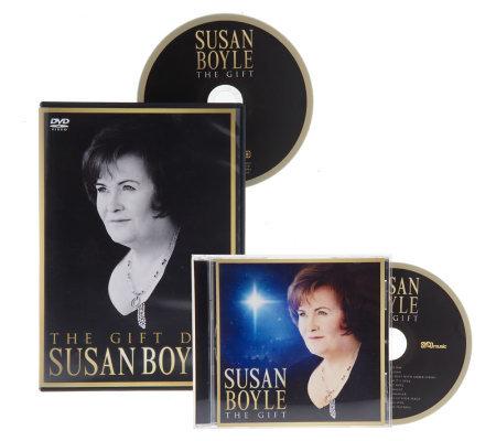 "Susan Boyle ""The Gift"" Seasonal 10 Track CD with Bonus DVD ... The Gift Susan Boyle Album"