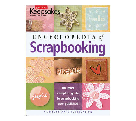 Leisure Arts - CK Encyclopedia of Scrapbooking