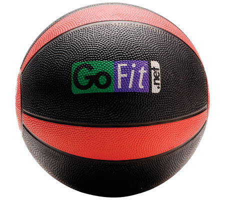 Gofit 8-lb Medicine Ball & Core Training DVD