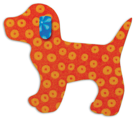 GO! Baby Fabric Cutting Dies - Gingham Dog