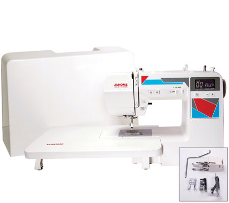 Janome MOD-100Q Quilting Machine with Accessories