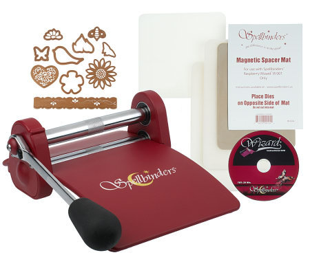 Spellbinders Wizard Die-cut & Embossing Machine w/Dies