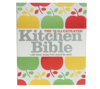 """The Illustrated Kitchen Bible"" by Victoria Blashford-Snell - F07627"