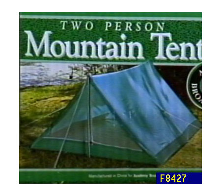 Backyard Tent and Sleeping Bag