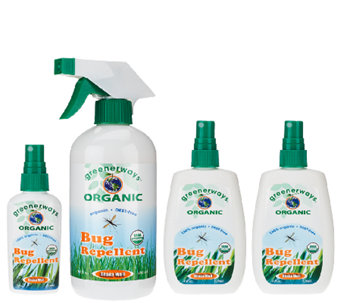 Greenerways 4-pc. Organic Citronella Bug Repellent Assortment - F11928