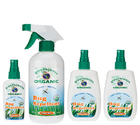 Greenerways 4-pc. Organic Citronella Bug Repellent Assortment