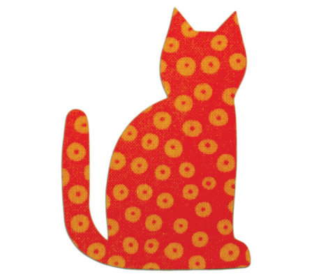 GO! Baby Fabric Cutting Dies - Calico Cat