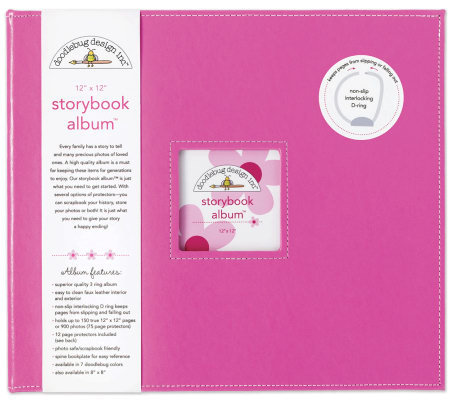 "Storybook Album 12""x12"" - Bubblegum"