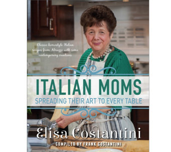 """Italian Moms"" Cookbook by Elisa Costantini - F12629"
