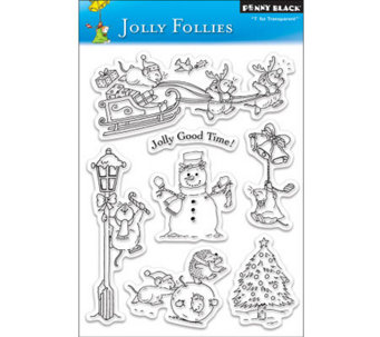 Penny Black Clear Stamp - Jolly Follies - F245029