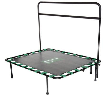 b-bounder Trampoline Rebounder with Balance Barre and DVD