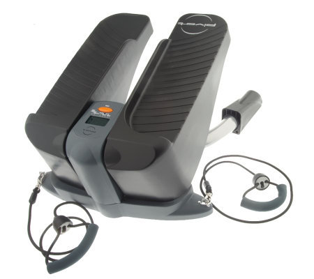 The Pivot Total Body Swivel Stepper with Resistance Bands