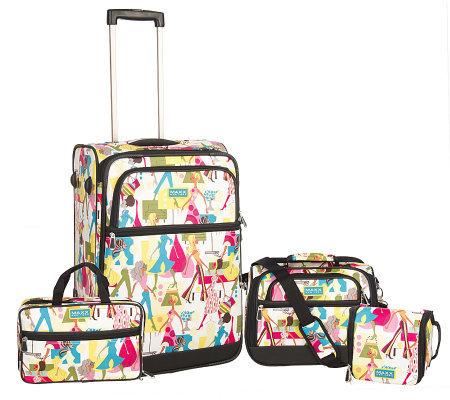 Maxx New York Travel Essentials 4-Pc Fashion Luggage Set - Page 1 ...