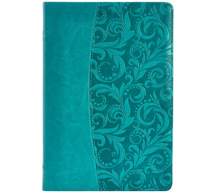 NIV Large Print Embossed Cover Bible