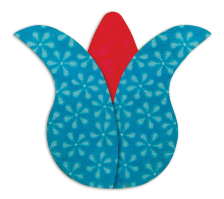 GO! Baby Fabric Cutting Dies - Tulip