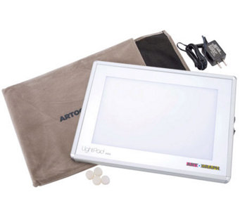 "LightPad Light Box With 6"" x 9"" Work Surface - F244933"