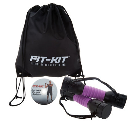 Fit Kit Adjustable Resistance Trainer w/ DVD by Fit Trend