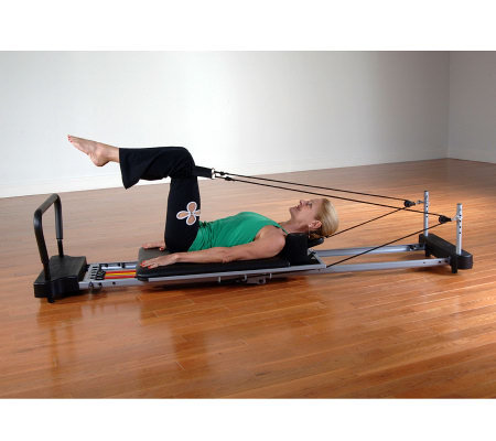 AeroPilates 5-Corded Machine with Rebounder & 2 DVDs