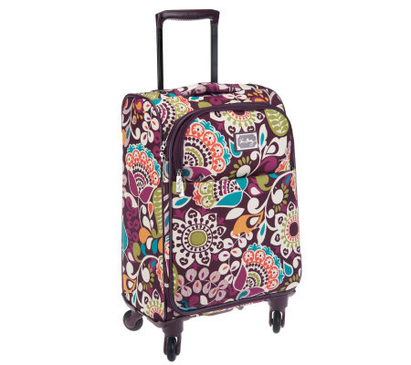 "Vera Bradley Signature Print 22"" Spinner Luggage"