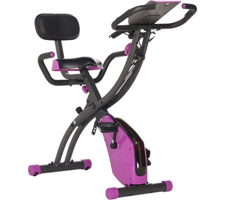Fitnation Flex Bike Ultra W Resistance Bands And Heart