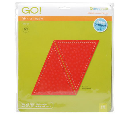 GO! Fabric Cutting Dies