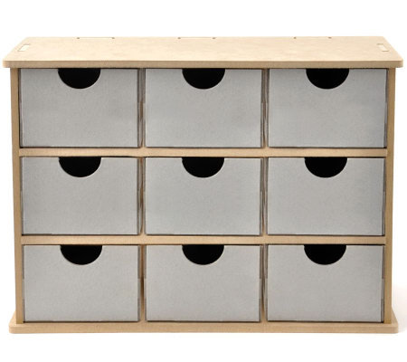 Beyond the Page MDF Storage Drawers