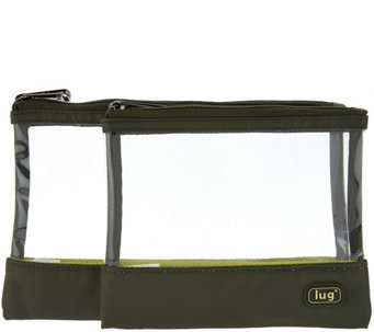 Lug Set of 2 Clearview Pouches - F12238