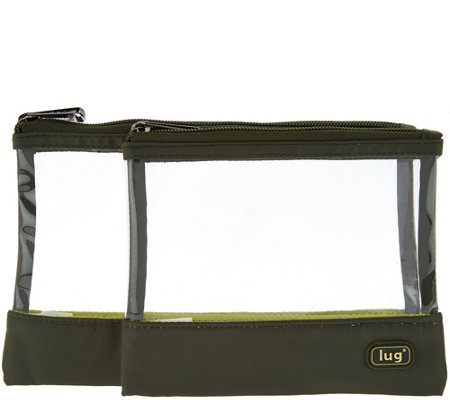 Lug Set of 2 Clearview Pouches