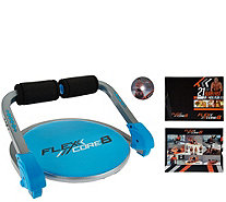 FITNATION Flex Core 8 Exercise System with DVD - F12638
