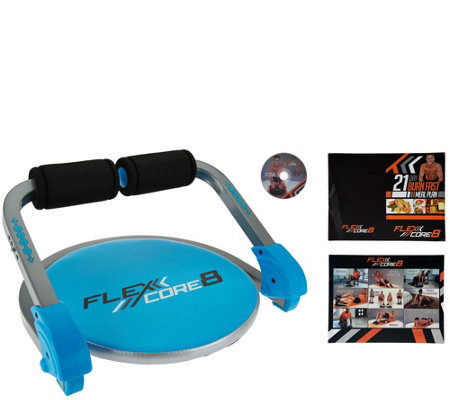 Fitnation Flex Core 8 Exercise System With Dvd Page 1