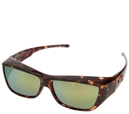 Jonathan Paul Mirrored Lense Fitover Sunglasses with PolarVue Lenses