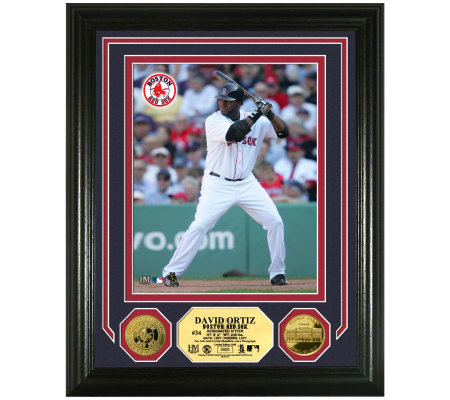 MLB Boston Red Sox David Ortiz 24K Gold PlatedCoin PhotoMint