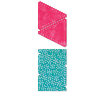 "GO! Fabric Cutting Dies - Half Square - 3"" Finished Triangle - F192239"