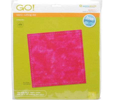 GO! Fabric Cutting Dies Square Quilt Block A